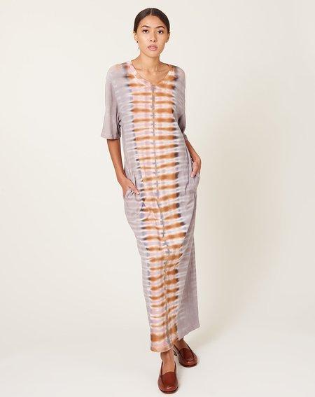 Raquel Allegra Belted Tee Dress - Tiger Tie Dye