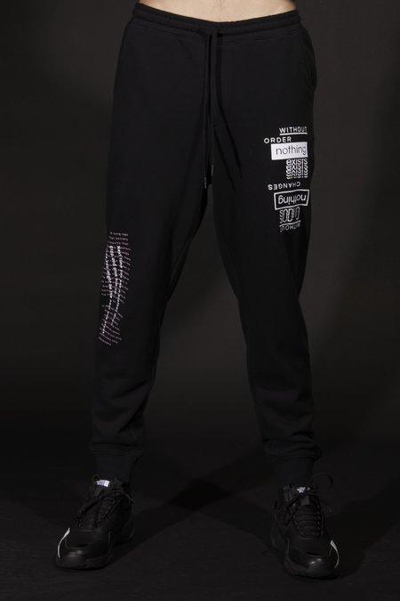 The Celect Sayings Sweatpants - Black