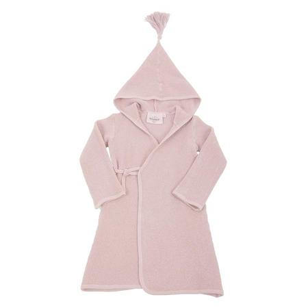 kids Moumout Paris Baby And Child Pepin Bee Small Honeycomb Bathrobe - pink