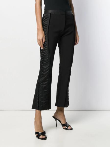 Mugler Contrast Panel Trousers - black