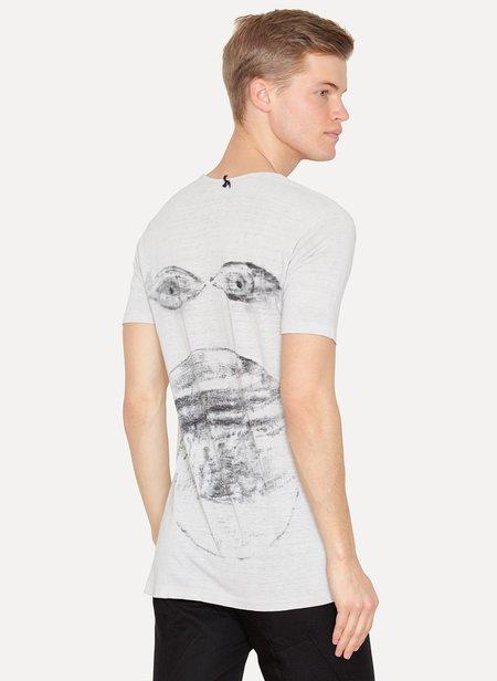 AMY GLENN Eyes T-Shirt - gray