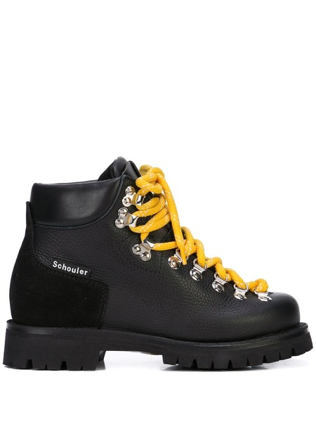 Proenza Schouler Hiking Boots - Black