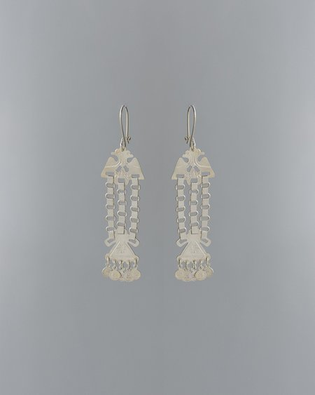 VOZ Mini Pajaro Earrings - sterling silver