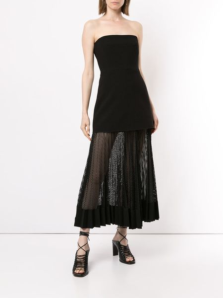 Dion Lee Long Strapless Dress