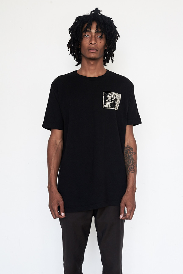 Silent Sound Cotton Crying Face T-Shirt