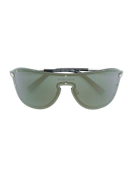 Versace Aviator Mask Sunglasses