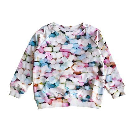 kids Romey Loves Lulu Sweatshirt - Marshmallows