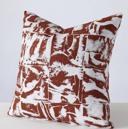 Stoff Studio Bloc 3 colour-ways cushion