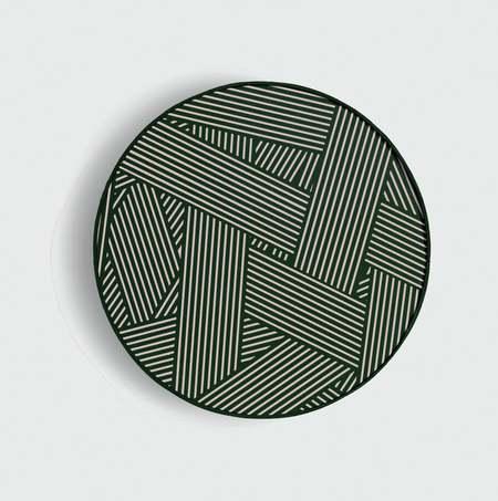 custom Framed Oblique print - Avocado