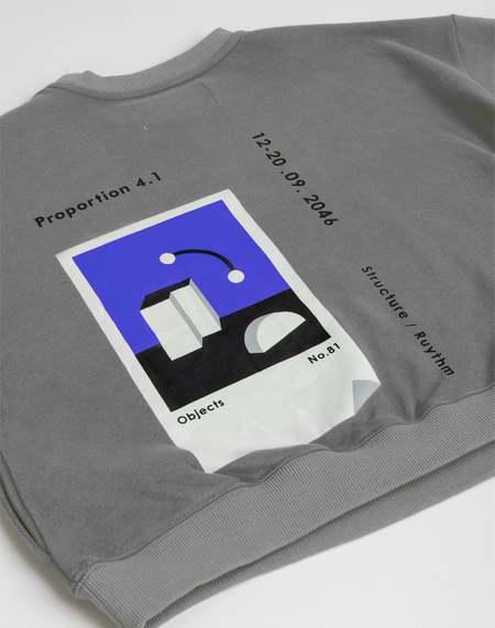MATTER MATTERS The objects sweatshirt - Grey