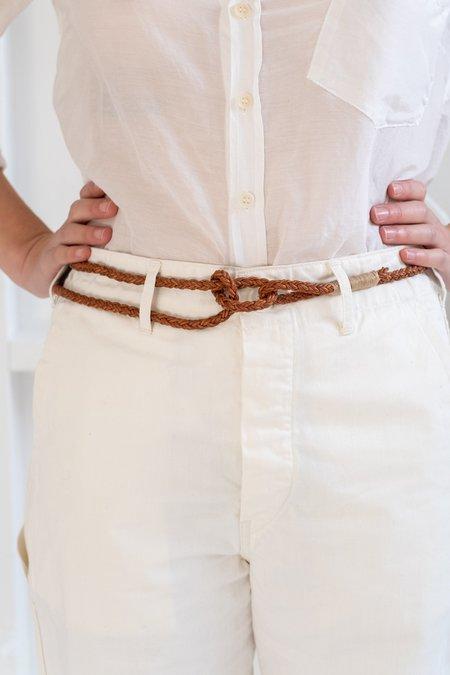 KikaNY Braided Knot Belt
