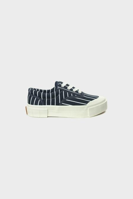 Good News Opal Stripes Sneakers - Navy Stripes