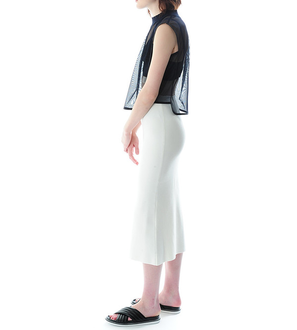 Nanushka Lin Sleeveless Crop Top