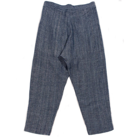 11.11 / Eleven Eleven Tailored Trouser - Indigo Chambray