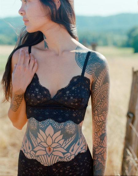 Aniela Parys Dahlia II Bralette - Black