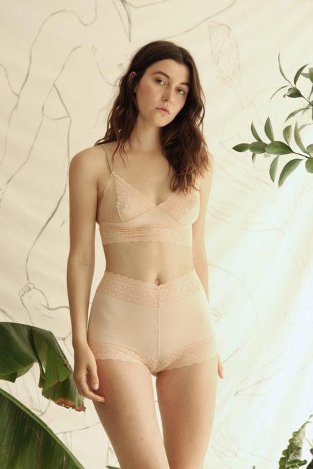 Aniela Parys Rose Bralette - neutral