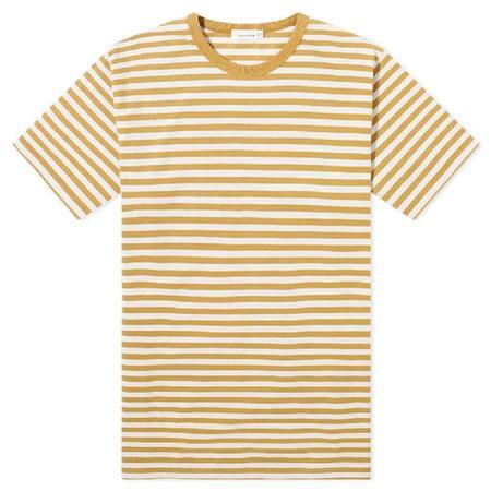 Nanamica Inc. Coolmax Graphic Tee - White/Yellow