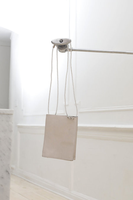 Square Bag Stone Leather