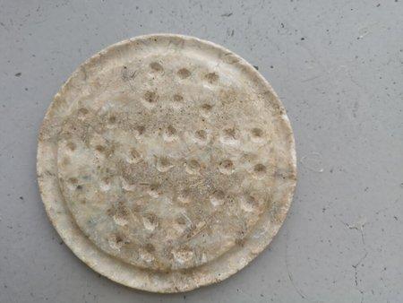 PRE-LOVED Stone Circular Tray