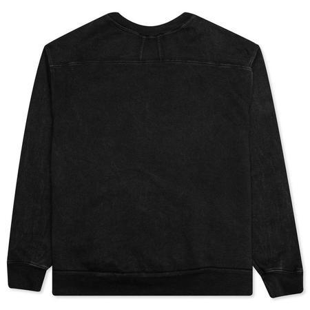 RHUDE Graphic Crewneck Best I Can Sweatshirt - Black