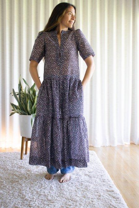 Les Coyotes de Paris Gigi Dress - Ornament Print