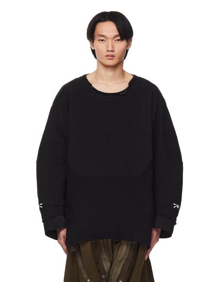 Hamcus Duszen Embroidered Sweatshirt - Black