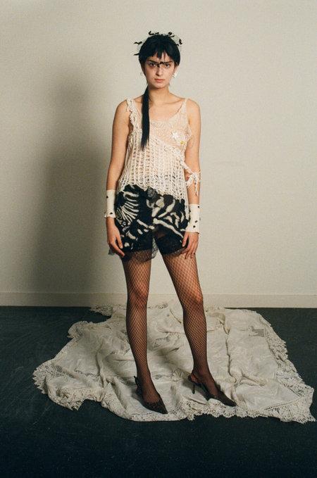 Sydney Pimbley Zebra Skirt