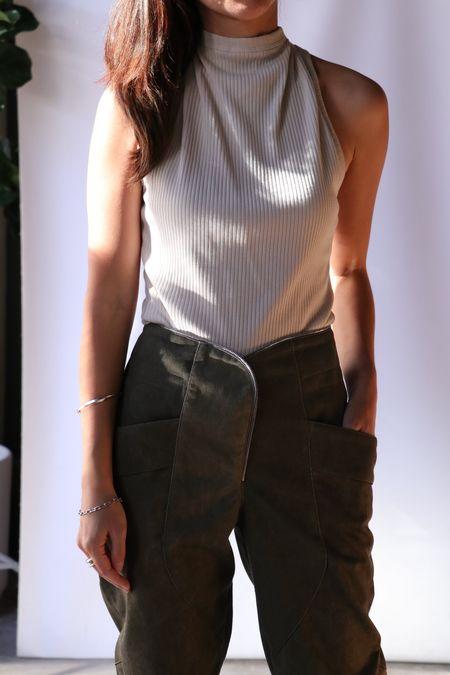RtA Sabrina Tank - Ribera Ivory