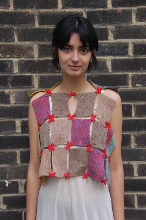Sydney Pimbley Welsh Portcullis Knit Vest