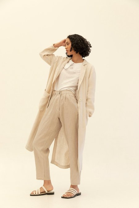 Muse The Label Edie Duster - Oatmeal