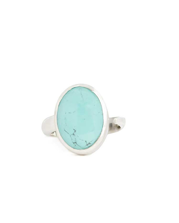 Minoux Jewelry Turquoise Clearing Ring