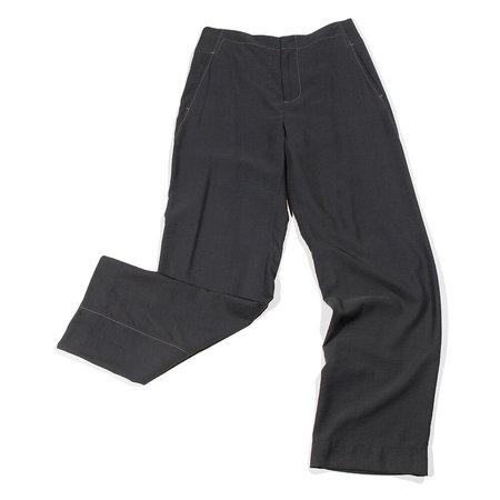 Lorod Twisted Seam Trouser - Washed Black