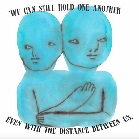 Unisex Giu Giu Distance Tee - Onyx