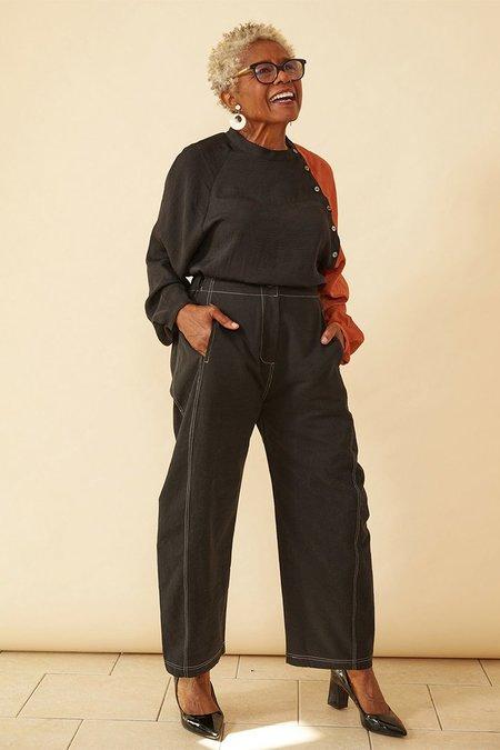Seek Collective Haus Pant - Washed Black