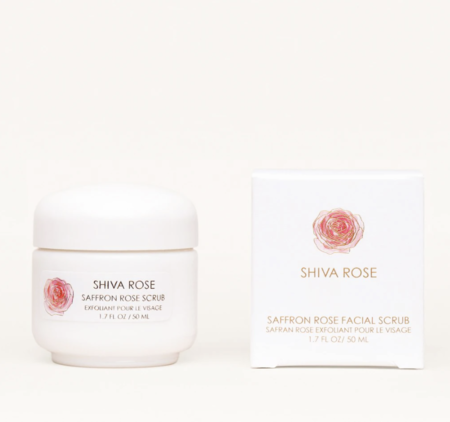 Shiva Rose Saffron Rose Facial Scrub