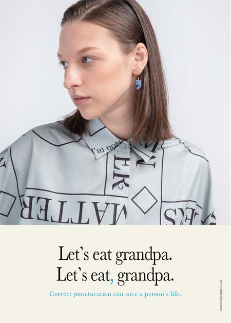 Matter Matters Comma Earrings - Pastel