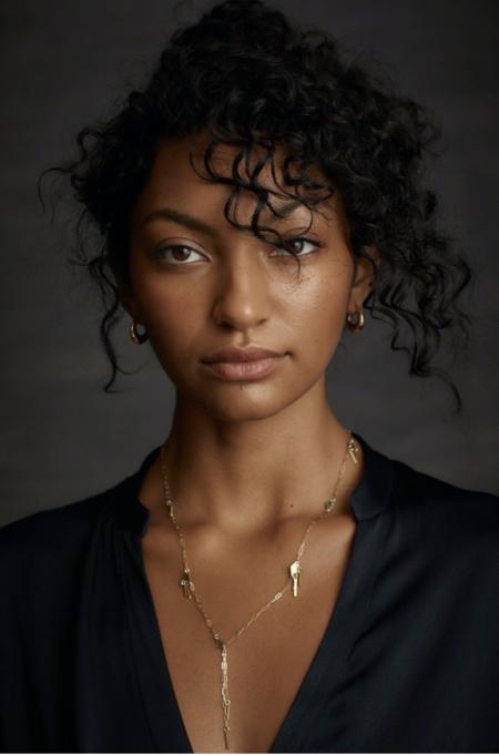 Marisa Mason Delphi Earrings - Brass