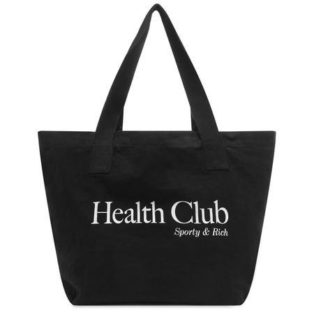 Sporty & Rich Health Club Tote - Black