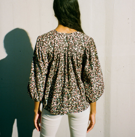 Bronze Age Posey Blouse - Floral Cord
