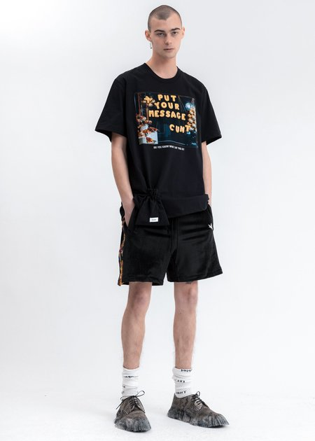 Doublet DIY Alphabet T-Shirt - black