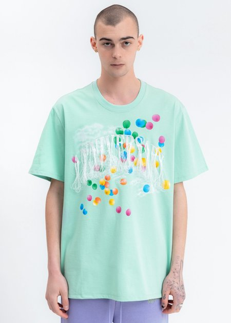 Doublet Not Anniversary Embroidery T-Shirt - Mint