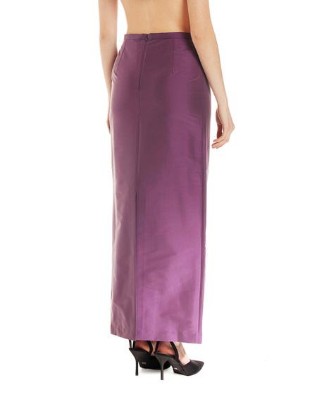 Bernadette Norma Pencil Skirt - Purple