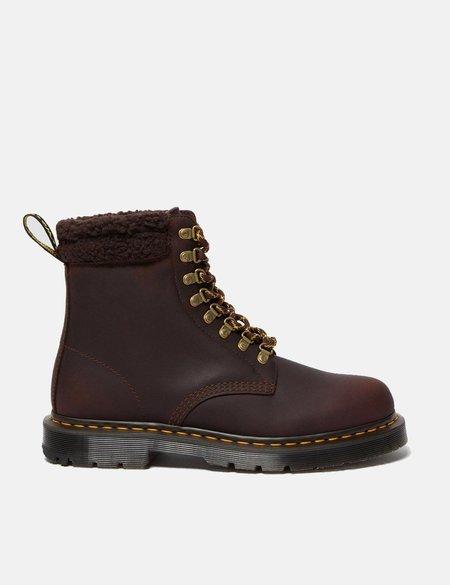 Dr Martens 1460 Collar 8 Eye Boot - Cocoa/Dark Brown