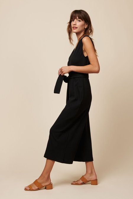 Whimsy + Row Westly Jumpsuit - Black