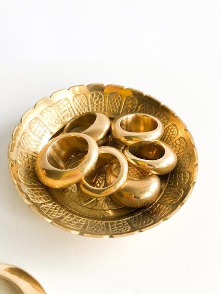 Vieux/Wave Ring - brass