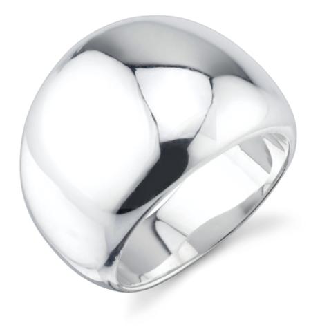 Pied Nu Gabriela Artigas Flat Balloon Ring - Silver