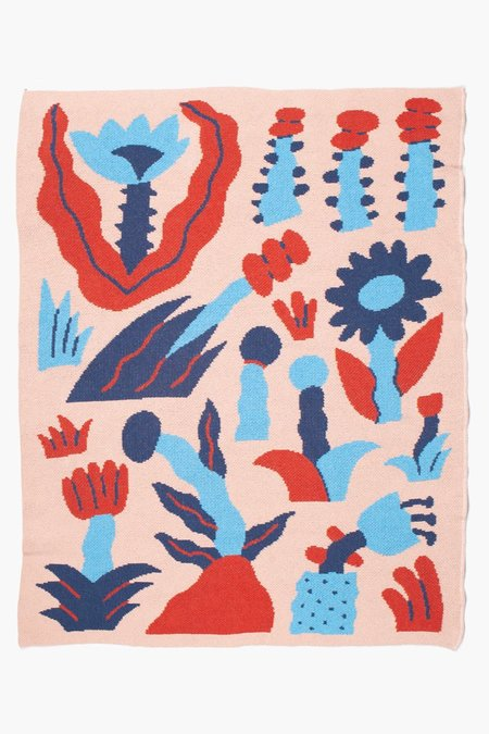 Kids Slowdown Studio Wonderland Mini Blanket