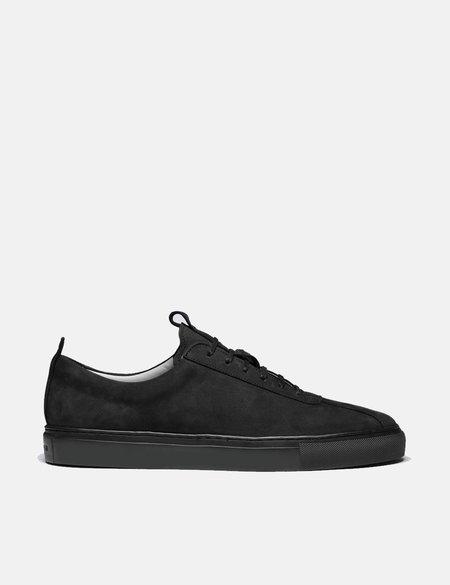 Grenson Nubuck Sneaker 1 - Black