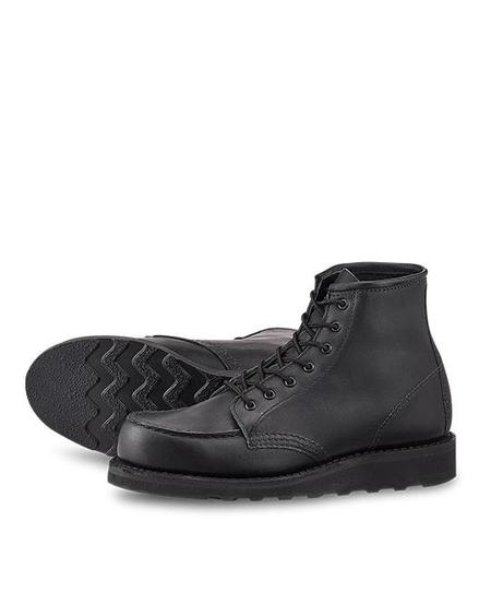 Red Wing Shoes Classic Moc Boot - Black Boundary Leather