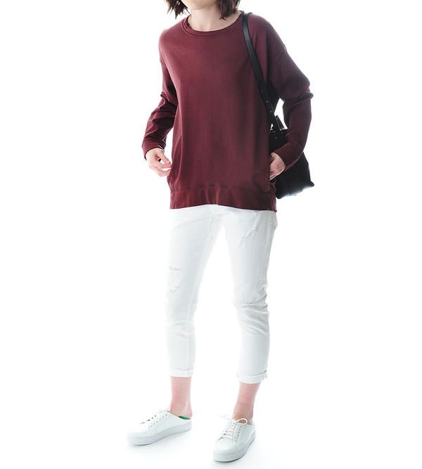 Raquel Allegra Merlot Sweatshirt